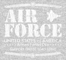 Armed Forces Day - USAF Air Force White by andabelart