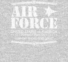Armed Forces Day - USAF Air Force White Unisex T-Shirt