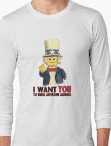 Lego Uncle Sam Long Sleeve T-Shirt