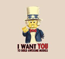 Lego Uncle Sam Unisex T-Shirt