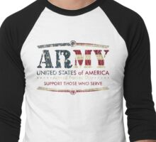 Armed Forces Day - Army Men's Baseball ¾ T-Shirt