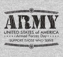 Armed Forces Day - Army Black by andabelart