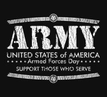 Armed Forces Day - Army White by andabelart