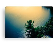 River Gold Canvas Print