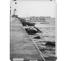 Psalm 91 Rock Fortress iPad Case/Skin