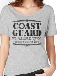 Armed Forces Day - Coast Guard Black Women's Relaxed Fit T-Shirt