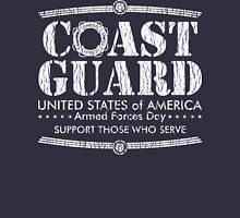 Armed Forces Day - Coast Guard White Unisex T-Shirt