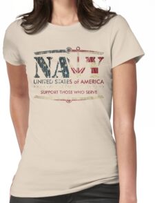 Armed Forces Day - Navy Womens Fitted T-Shirt