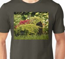 Black Squirrel Looking for Food Unisex T-Shirt