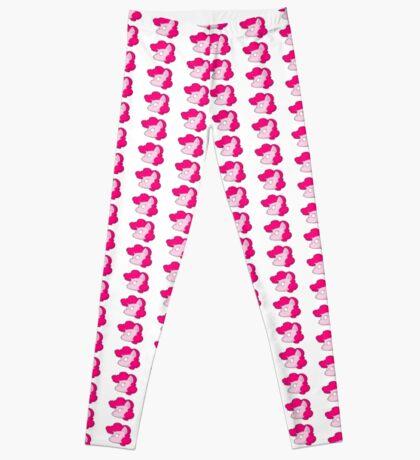PinkiePie inspired Chibi style (pattern) Leggings
