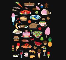 Food Glorious Food (black) Unisex T-Shirt