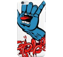 santa cruz hand iPhone Case/Skin