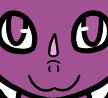 Dragon Chibi (Light Purple) Sticker