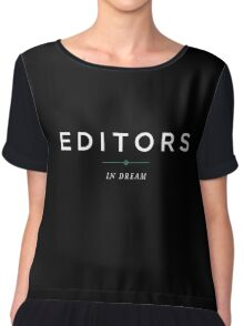 E D I T O R S // IN DREAM Chiffon Top
