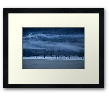 Winter's passion Framed Print