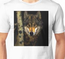 Wolf from Kaibab Forest in Arizona Unisex T-Shirt