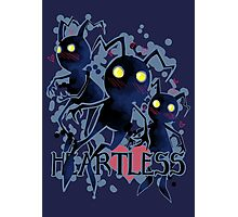 Heartless - blush Photographic Print