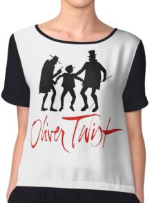 Oliver Twist Chiffon Top