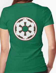 Galactic Empire Symbol Womens Fitted T-Shirt