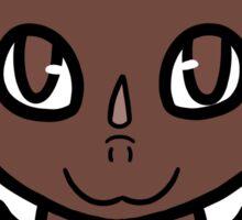 Dragon Chibi (Chocolate) Sticker