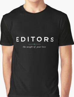 E D I T O R S  //  the weight of your love Graphic T-Shirt