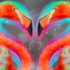 Life Is So Much Brighter (Neon Infinity Flamingos 2) by soaringanchor