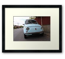 FIAT RACER Framed Print