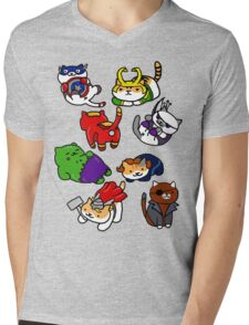 Atsume Assemble Mens V-Neck T-Shirt