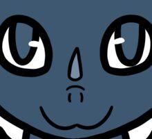 Dragon Chibi (Dark Blue) Sticker
