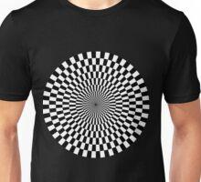 Op Art - Black and White Unisex T-Shirt