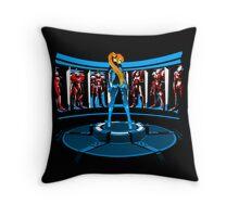 Iron Aran Throw Pillow