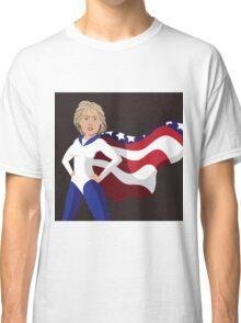 Hillary Clinton American superhero Classic T-Shirt