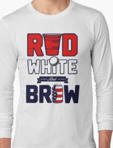 RED-WHITE & BREW Long Sleeve T-Shirt