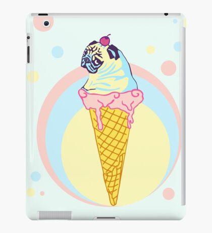 icecream pug iPad Case/Skin