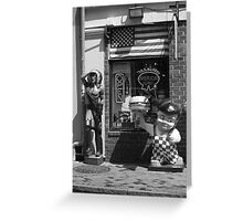 New Orleans - Bourbon Street Greeting Card