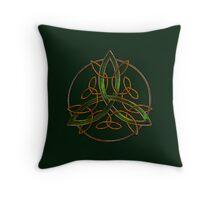 Celtic Triquetra Throw Pillow