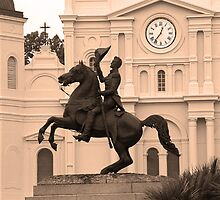 New Orleans - Andrew Jackson by Frank Romeo