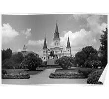 New Orleans - Jackson Square Poster