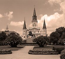 New Orleans - Jackson Square by Frank Romeo