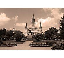 New Orleans - Jackson Square Photographic Print