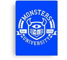 Monsters university Canvas Print