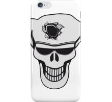 Skull funny sunglasses hole iPhone Case/Skin