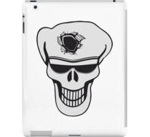 Skull funny sunglasses hole iPad Case/Skin