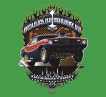 Muscle Car - Barracuda Road Burn One Piece - Short Sleeve
