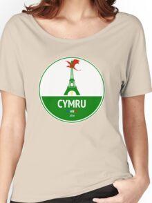 Cymru Women's Relaxed Fit T-Shirt