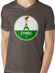 Cymru Mens V-Neck T-Shirt