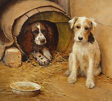 In the Dog House by Bridgeman Art Library