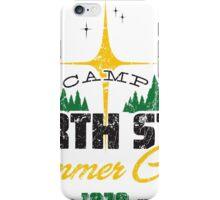 Camp North Star iPhone Case/Skin