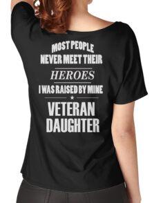 Veteran Daughter Women's Relaxed Fit T-Shirt