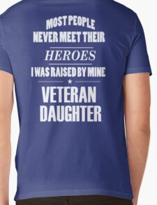 Veteran Daughter Mens V-Neck T-Shirt